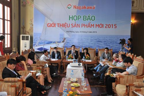 Nagakawa ra mắt bộ sản phẩm điều hòa không khí mới 2016