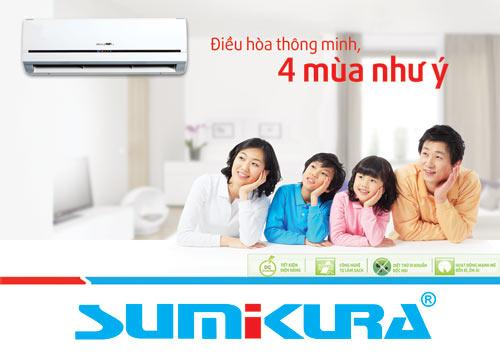 Cùng tìm hiểu về điều hòa Sumikura