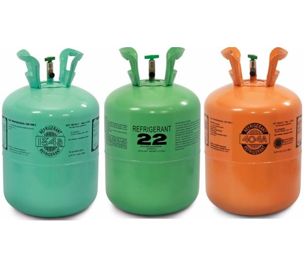 Phân Biệt các loại gas 410, gas R22, Gas R32 sử dụng trong điều hòa
