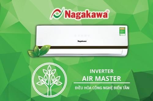 Điều hòa Nagakawa Inverter Air Master cao cấp đã ra mắt.